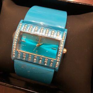 Blue Bebe watch bracelet